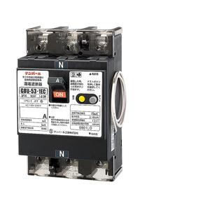 テンパール工業 単3中性線欠相保護付漏電遮断器 OC付 U5301EC4015V【4950870125425:14430】