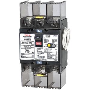 テンパール工業 単3中性線欠相保護付漏電遮断器 OC付 75A 30mA リード線付 U7301KC7530V【4950870128952:14430】