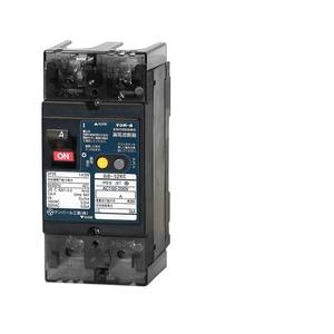 テンパール工業 Kシリーズ 分電盤協約形サイズ 漏電遮断器OC付 15A-30mA 警報スイッチ付 52KC1530P【4950870131587:14430】