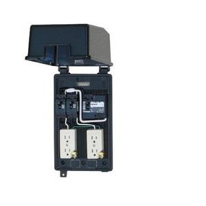 テンパール工業 防滴ボックスブレーカ 漏電遮断器組込 プラスチック製防滴ボックス GTPK3015【4950870133833:14430】