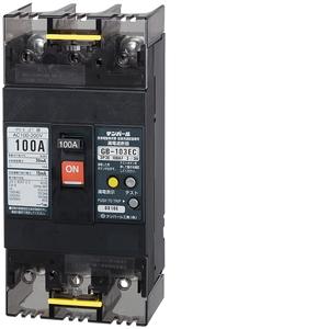 テンパール工業 Eシリーズ 経済タイプ 漏電遮断器 OC付 103EC1030【4950870140022:14430】