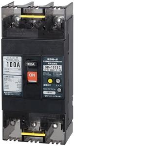 テンパール工業 Eシリーズ 経済タイプ 漏電遮断器 OC付 103EC10W2【4950870140411:14430】