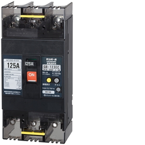 テンパール工業 Eシリーズ 経済タイプ 漏電遮断器 OC付 123EC12W24【4950870146574:14430】