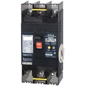 テンパール工業 太陽光発電システム用単3中性線欠相保護付漏電遮断器 OC付 125A リード線付 U123EC12W2V【4950870167388:14430】