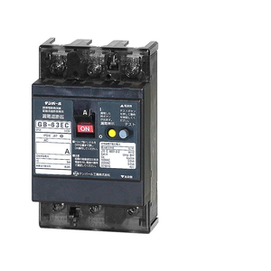 テンパール工業 Eシリーズ 経済タイプ 漏電遮断器 OC付 63EC60100F【4950870170340:14430】