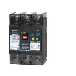 テンパール工業 太陽光発電システム用太陽光発電システム側用 逆接続対応型 漏電遮断器 OC付 63KCS6030【4950870176090:14430】