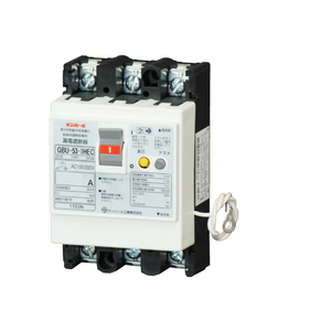 テンパール工業 漏電遮断器 単3中性線欠相保護付 過電圧検出リード線付 U5301HEC3030【4950870178698:14430】