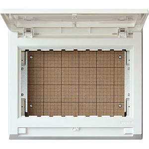 テンパール工業 パールテクト 扉付 機器取付ボックス 露出・半埋込形兼用 プラスチック製 MA326111【4950870409808:14430】