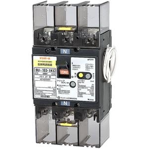 テンパール工業 単3中性線欠相保護付配線用遮断器 100A リード線付 BU10301KC10V【4950870026814:14430】