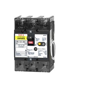 テンパール工業 単3中性線欠相保護付配線用遮断器 40A 警報スイッチ付 BU5301KC40VP【4950870028153:14430】
