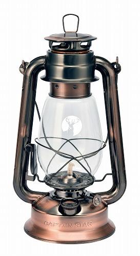 やさしい灯りが特徴のオイルランタン キャプテンスタッグ CS オイルランタン 大 UK-0507 新作製品 正規取扱店 世界最高品質人気 ブロンズ