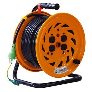 日動 電工ドラム 15A×30m NF-E34F [電動工具 電工ドラム・コード 電工ドラム 30M] 【4937305011614:16480】