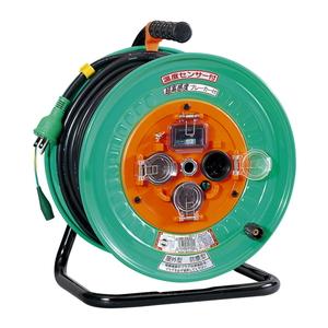 日動 コードリール 15A×30m NWH-EK33 [電動工具 電工ドラム・コード 電工ドラム 30M] 【4937305033296:16480】