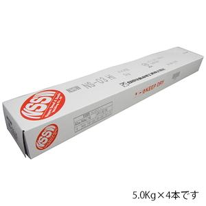 日鐵住金 軟鋼用溶接棒 NS-03Hi 4.0x20kg [電動工具 溶接 溶接棒 軟鋼用] 【4580437130083:16480】