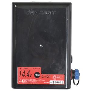 ニシガキ バリカン用バッテリー7A N-902-1 [園芸機器 刈払機 刈払補助具] 【4964590900514:16480】