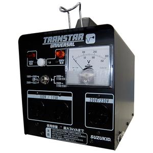 スズキット トランスターユニバーサル STU-312 [電動工具 電工ドラム・コード 変圧器(トランス)] 【4991945032491:16480】