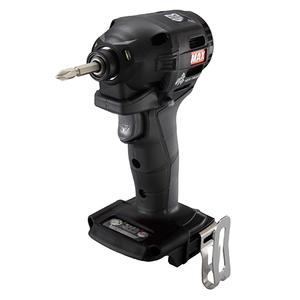 MAX 充電式インパクトドライバ本体 PJ91185 クロ [電動工具 マックス 釘打ち機 本体 その他] 【4902870817220:16480】