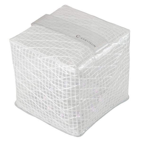 ランタン ソーラー ライト 折り畳み 充電式 ホワイト 人気上昇中 キャリーザサン ウォームライト セール特価 ミディアム