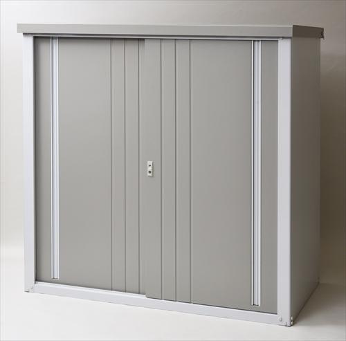 海外 屋外収納 物置 一坪以下物置 スチール収納庫 限定価格セール 山善 KSLB-1515