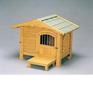 アイリスオーヤマ ロッジ犬舎 ブラウン RK-950【4905009144389:1309】