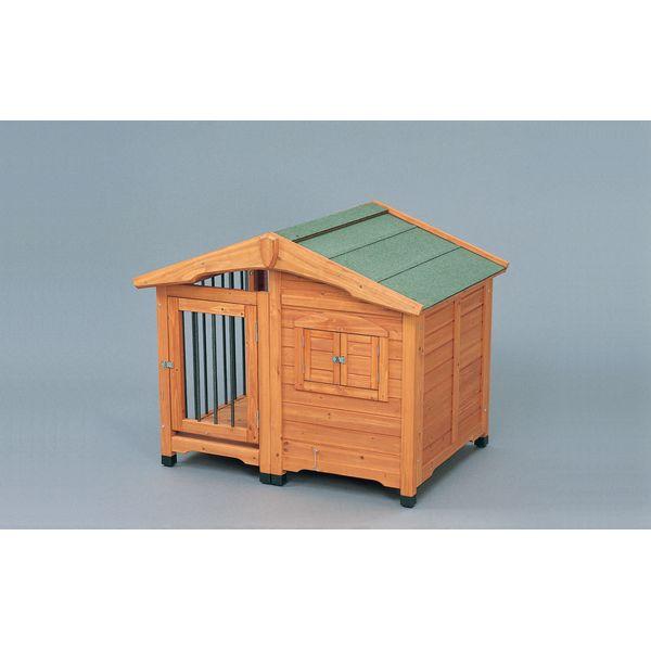犬猫用品 ハウス 犬舎 アイリスオーヤマ サークル犬舎 ブラウン CL-1100【4905009250332:1309】
