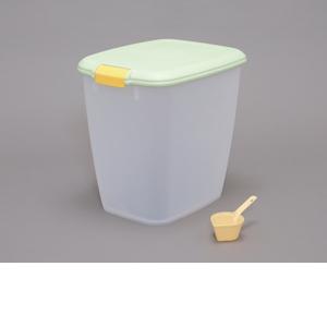犬猫用品 食器類 お得クーポン発行中 保存容器 アイリスオーヤマ MFS-10 密閉フードストッカー グリーン 本店