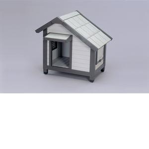 アイリスオーヤマ コテージ犬舎 グレー CGR-830【4905009387724:1309】
