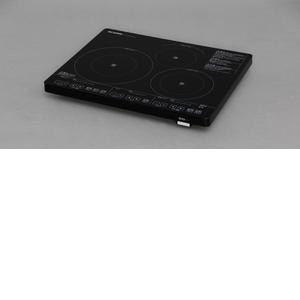 アイリスオーヤマ ブラック 3口IHクッキングヒーター 200Vタイプ 200Vタイプ ブラック IHC-S324-B【4905009438921:1309】, 板倉町:cb2e9d8c --- sunward.msk.ru