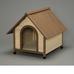 アイリスオーヤマ ウッディ犬舎 ブラウン WDK-900【4905009730506:1309】