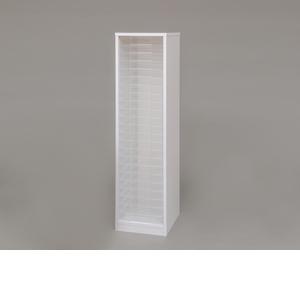アイリスオーヤマ 木製フロアケース ホワイト MFE-1230【4967576139960:1309】