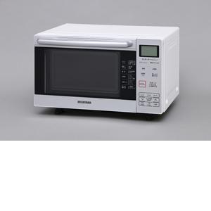 アイリスオーヤマ オーブンレンジ 18L フラットテーブル ホワイト MO-F1801【4967576218948:1309】