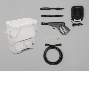アイリスオーヤマ タンク式高圧洗浄機コードレスタイプ ホワイト SDT-L01N【4967576328043:1309】