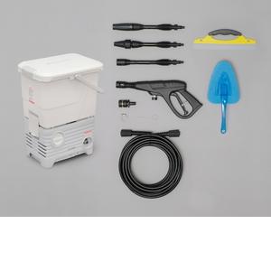 アイリスオーヤマ タンク式高圧洗浄機洗車セット ホワイト SBT-512NS【4967576329545:1309】