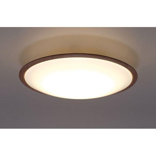 アイリスオーヤマ LEDシーリングライトメタルサーキットシリーズ ウッドフレーム 14畳調色 ウォールナット CL14DL-5.1WFM【4967576366137:1309】