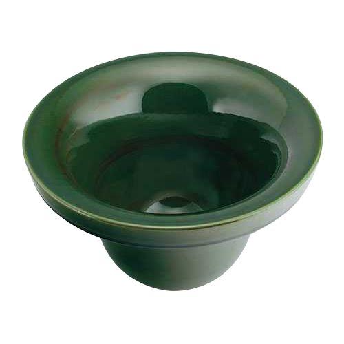 カクダイ 丸型手洗器 青竹 493-099-GR【4972353052639:16480】