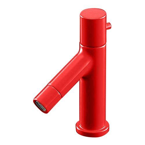 カクダイ 立水栓 レッド 716-827-R【4972353088867:16480】