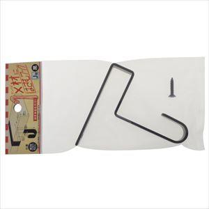 ねじ釘 おすすめ 洋灯 フック 建材フック 本物 J型黒 1×材にはさむフック 〈3個価格〉 YHT