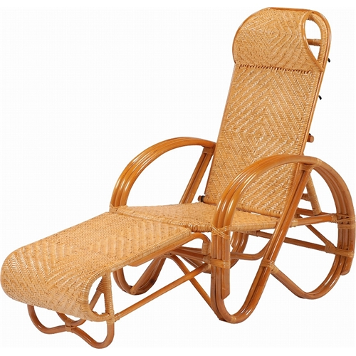萩原 三ツ折椅子 RTB-1382 幅57×奥行84~167×高さ64~102×座面高35cm 【4934257123242:15950】