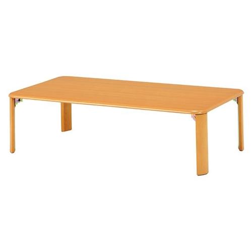 萩原 折れ脚テーブル VT-7922-105NA 幅105×奥行75×高さ32(8)cm 【4934257239042:15950】
