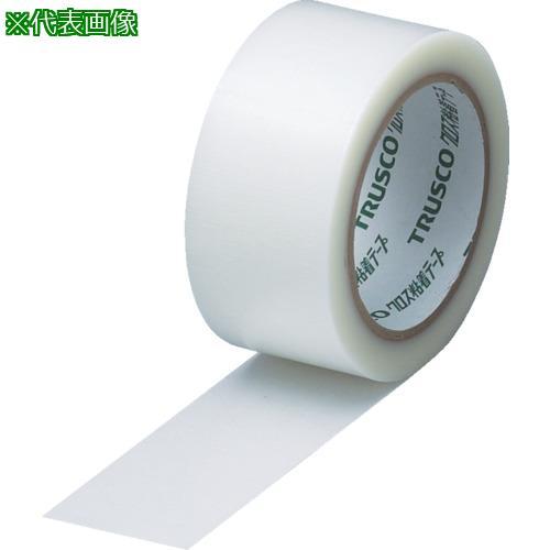■TRUSCO クロス粘着テープ 幅50mmX長さ25m クリア 透明(30巻) GCT-50 トラスコ中山(株)【0015342×30:0】