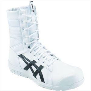 ■アシックス ウィンジョブCP402 ホワイト/ブラック 27.5cm 1271A002.100-27.5 【1027205:0】