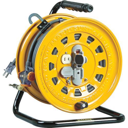 ■ハタヤ 逆配電型コードリール マルチテモートリール 単相100V 47+6M  TGM-150 【1061836:0】