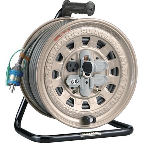 ■ハタヤ サンタイガーリール 単相100Vアース付 50M 温度センサー付  GT-501KX 【1062905:0】