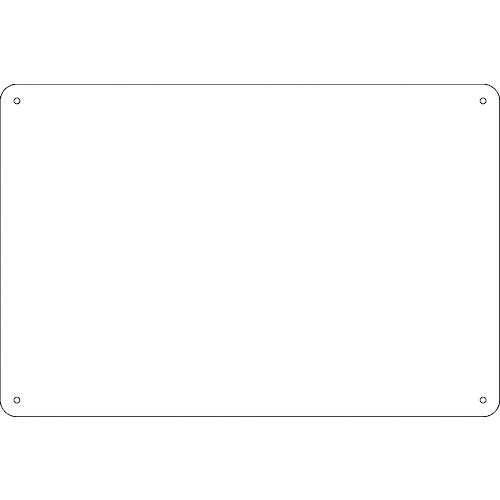 NEW 日本緑十字社 安全標識 ■緑十字 スチール無地板 白 300×200×0.8mm 事業所限定 平板〔品番:058251〕 掲外取寄 送料別途見積り 1064708:0 法人 送料0円