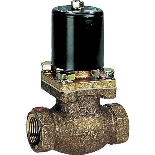 ■CKD 水用パイロットキック式2ポート電磁弁 100V PKW-10-27-AC100V CKD(株)【1103695:0】