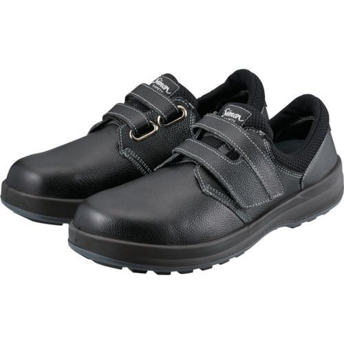 ■シモン 安全靴 短靴 WS18黒 25.5cm WS18B-25.5 (株)シモン【1115238:0】