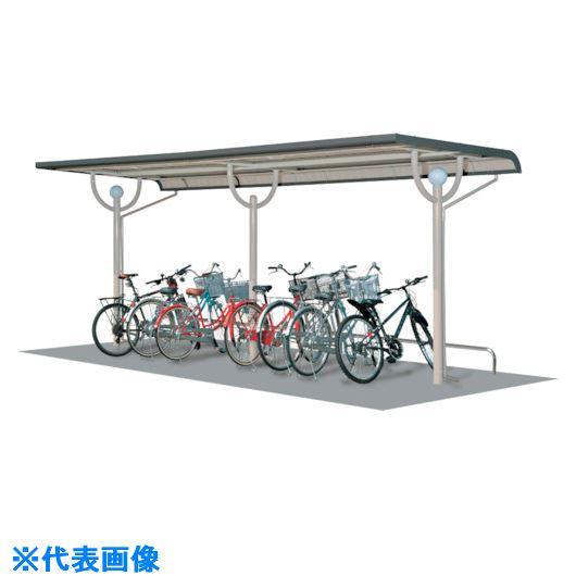 ■タクボ 10YP型自転車置場(追加棟)〔品番:SP102YPU-L〕【1119521 :0】[送料別途見積り][法人・事業所限定][外直送][店舗受取不可]