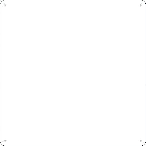 740538 日本緑十字社 安全標識 ■緑十字 スチール無地板 白 現品 300×300×0.5mm 法人 事業所限定 掲外取寄 1140742:0 普通山型〔品番:058341〕 限定品 送料別途見積り