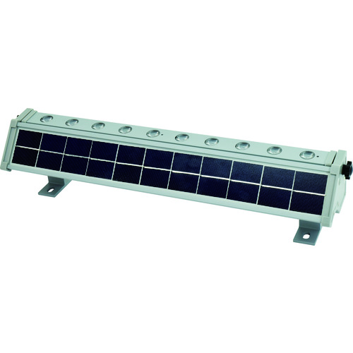 ■日動 ソーラーLEDウォールライト(光センサー付) LWL-1W10P-SO 日動工業(株)【1141685:0】