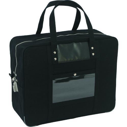 三栄産業 ツールバッグ ■SANEI 帆布メール用ボストン 黒〔品番:BTLLSED01〕 おしゃれ SED-1錠付 日本全国 送料無料 LL 1141862:0